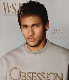 Neymar Covers WSJ Magazine in Calvin Klein Obsession Top image Neymar WSJ Magazine 001 Neymar Jr, Brazilian Soccer Players, Good Soccer Players, Calvin Klein Obsession Sweatshirt, Fc Barcelona, Samba, Wsj Magazine, Magazine Covers, Soccer Stars