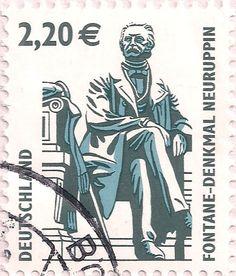 Briefmarke-Europa-Mitteleuropa-Deutschland-220-2003-Fontane