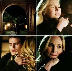 Tvd - oh my god, thank god. Vampire Diaries Season 7, Vampire Diaries Cast, Vampire Diaries The Originals, Stefan And Caroline, Caroline Forbes, Bonnie Enzo, Tvd Season 7, Vampire Barbie, Hayley And Elijah