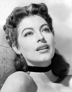 Ava Gardner, married to Frank Sinatra for a short while. Beautiful and firey lady.