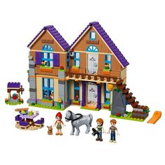 LEGO Friends Mia's House 41369 Building Kit with Mini Doll Friends Figures and Toy Horse Pieces) Mini Doll House, Toy House, Cool Lego, Cool Toys, Lego Chevalier, Lego Friends Sets, Friends Girls, Lego Knights, Toys R Us Canada