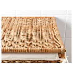 IKEA - BRANÄS, Laundry basket with lining, rattan, The plastic feet protect from moisture. Each basket is woven by hand and is therefore unique. Holds up to 20 lbs of laundry. Rattan, Woven Laundry Basket, Fels Naptha, Laundry Supplies, Ikea Bathroom, Kallax, Dry Cleaning, Washer And Dryer, Clear Acrylic