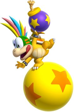 Lemmy Koopa - He was the worst in the whole game!