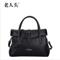 76.27$  Watch here - http://aliftf.worldwells.pw/go.php?t=32563632005 - Women bag 2016 new laorentou brand genuine leather bag fashion head layer cowhide women handbags shoulder messenger bag rome bag 76.27$