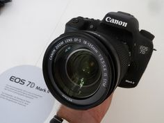 The Canon EOS 7D Mark II