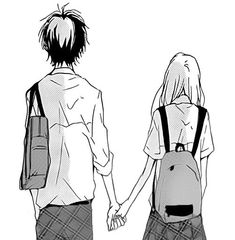 Pics For Cute Anime Love Couples Easy To Draw My Board Anime