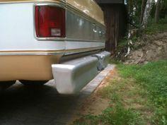 VERKAUFE STOßSTANGE HINTEN,Chevrolet 1977 C10, Bonanza gebrauchsspuren,sehr stabil, silbern...,CHEVROLET C10 in Mecklenburg-Vorpommern - Dierhagen