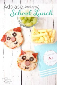 Adorable and Delicious Lunch Ideas | The Real Thing with the Coake Family - Highlighted on #HomeMattersParty 100