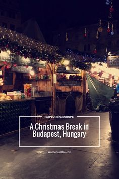 A festive break in Budapest, Hungary. Enjoying the Christmas markets and mulled wine, soaking in the Roman baths, sampling local food, visiting neighbouring towns and visiting top sights. The perfect way to get festive in Europe, click to read more...