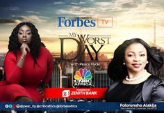 Folorunsho Alakija never gives up! New episode of Forbes Africa TV My Worst Day with Peace Hyde premiering October 6th   Forbes Africa TVs flagship show is back and in the hot seat for October is the first female mogul to join our illustrious group of entrepreneurs Mrs Folorunsho Alakija executive vice chairman of Famfa Oil with an estimated net worth of $1.82 billion.From starting her career as a company secretary to launching one of the most prominent fashion labels building the largest…