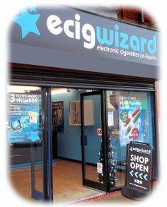Visiting an ECigWizard Shop – Now Open, ECigWizard Birmingham / ECigWizard Vaping Lounge