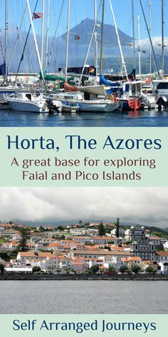 Faial island in The Azores offers walks to impressive craters, exciting whale watching trips, and a great view of Pico. Best River Cruises, Portugal Travel Guide, Visit Portugal, Whale Watching, Best Cities, Great View, Travel Guides, Journey, Exploring