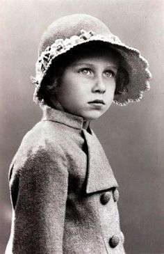 Princess Margaret (1930-2002), photographed in 1934, at the age of 4 years-old