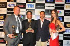 Oman's Leading Resort 2012: Six Senses Zighy Bay - John Philipson, Managing Director and Mr Axel Jarosch, General Manager.