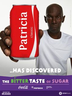Rob loves Coca-Cola, but I dislike the bitter taste of sugar! Discover it yourself at http://www.thebittertasteofsugar.com Go #behindthebrands