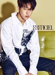 Nam Joo Hyuk L'Officiel Hommes Korea November 2016 Look 3