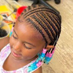 Black Baby Girl Hairstyles, Little Girls Natural Hairstyles, Little Girl Braid Hairstyles, Toddler Braided Hairstyles, Little Girl Braids, Natural Hairstyles For Kids, Princess Hairstyles, Kid Hairstyles, Khloe Hair