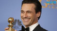"""One last award for Mr. Don Draper. Jon Hamm just won Best Actor in a TV Drama at the 2016 Golden Globes for his legendary work on AMC's Mad Men, besting favored newcomer Rami Malek, fellow AMC star Bob Odenkirk , as well as Wagner Moura and Liev Schrieber. """"Thank you so much to the HFPA for supporting our show for as long as you have, all the way to the end,"""" Hamm said as he began his acceptance speech."""