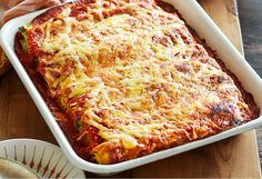 This baked pasta is easy to make ahead and heat when you're ready to eat.