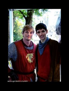 Colin Morgan and Bradley James | ... of Bradley James (Prince Arthur) & Colin Morgan (Merlin aka. Emrys
