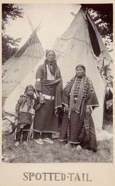"""Фото Gertrude Kasebier, 1898 год. """"Spotted-Tail, Sioux Indian""""."""