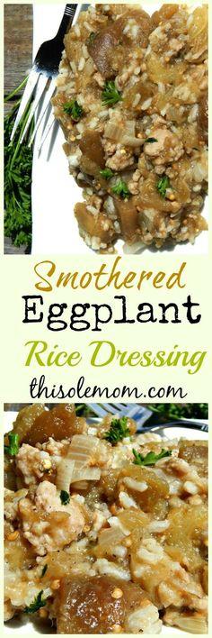 Smothered Eggplant R