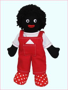 19 Best Gollywog Patterns Images In 2019 Fabric Dolls