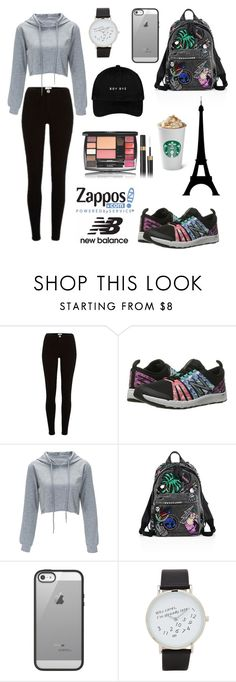 """""""Run the World in New Balance"""" by fashionwithsashas ❤ liked on Polyvore featuring New Balance, Marc Jacobs, Belkin, ALDO and NewBalance"""