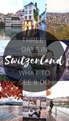 "When I first booked my flight to Basel, there was one question on my mind: ""How do you spend three days in Switzerland?"" Although Switzerland is only a tenth of the size of California, that doesn't mean that there's not plenty to do in the country! I fell in love with Switzerland quicker than you can say 'fondue'!"