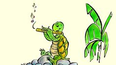 Turtle's Flute: Learn Dutch with subtitles. Turtle was a gifted flutist. One day a greedy man shuts her in a cage. Find out how Turtle escapes in this Brazilian folktale. Learn Dutch, Learn Russian, Learn German, Learn French, Learn English, English Uk, Learning Arabic, Learning Italian, Learning Spanish