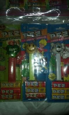Pez on cards $45