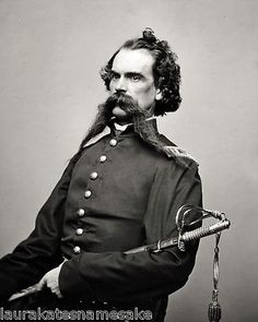 """Captain Hays, bearer of the American Civil War's most coveted medal - """"Mustaches Beyond and Above the Call of Duty""""."""