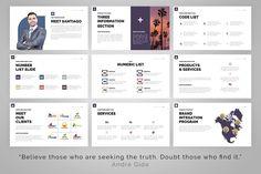 Beta | Powerpoint template by Zacomic Studios on @creativemarket