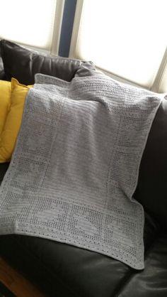 Crafting is fun ... crocheted baby blanket