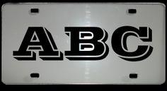 Monogram_License_Plate