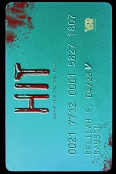 Hit by Delilah Dawson - Near future thriller about a teen forced to become an indentured assassin who has only three days to complete her hit list--with the added complication of her sole ally's brother being the final assignment.