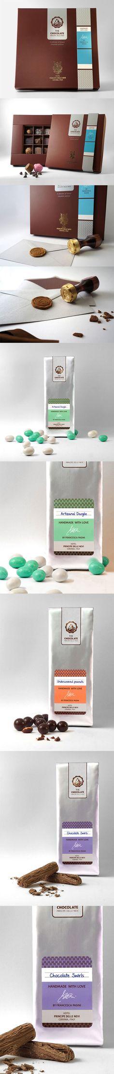 Cool Brand Identity Design. The Chocolate. #branding #brandidentity [http://www.pinterest.com/alfredchong/]