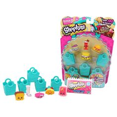 Kick-start your Season 3 Shopkins™ collection with the 5 Pack. Includes…