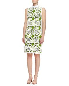 bb4cbc7c5d4 Lexi Cotton Crochet Dress Knit Dress
