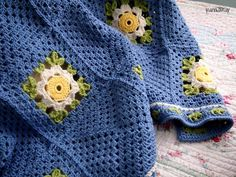 daisy chain | yarnaway: a crochet scrapbook