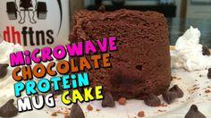 Microwave Chocolate PROTEIN Mug Cake Recipe