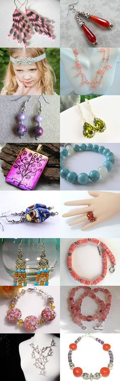 Beautiful Jewels! by Molly Gardner on Etsy--Pinned+with+TreasuryPin.com
