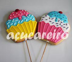 Biscoitos Cupcakes