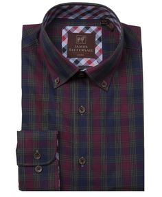 JTW6618-Red from James Tattersall Clothing