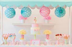 Una fiesta de cumpleaños infantil muy original