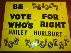 funny campaigning ideas for student council - Google Search