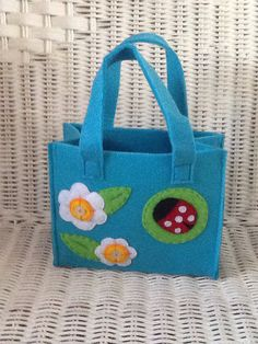 Small Felted Bag on Etsy, £10.00