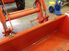 Ken's Bolt on Grab Hooks <<Kubota Hooks>> Kubota Compact Tractor, Compact Tractors, Compact Tractor Attachments, Tractor Accessories, Kubota Tractors, Lawn Equipment, Large Plates, Outdoor Projects, Buckets