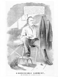 90 best 1840 1860 antebellum america political cartoons images Election of 1860 Popular Vote Map 1856 democratic presidential candidate james buchanan is depicted as a poor bachelor in his