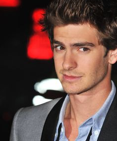 Andrew Garfield. He's British and has an accent. What more could you ask for?